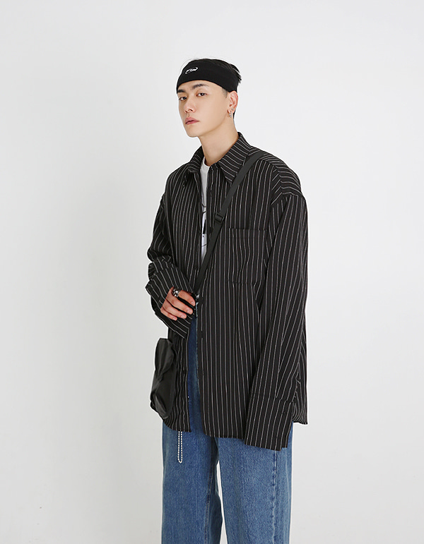 No.0051 HIC made stripe over SHIRT