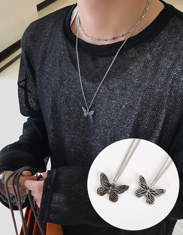 No.7994 butterfly necklace
