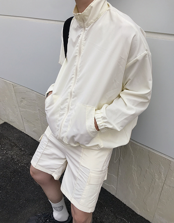 No.8039 windbreaker set JK