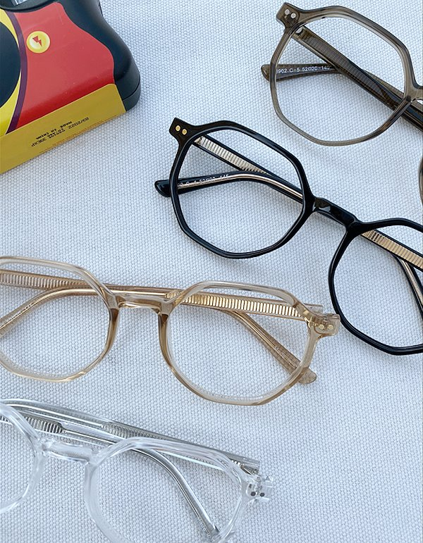 No.8197 UQ T frame glasses (4color)