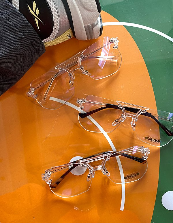 No.8703 UQ frame glasses