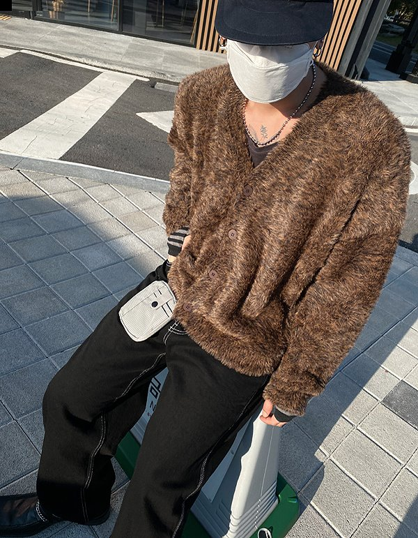No.8406 animal fur CD (3color)